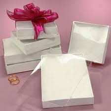 corrugated gift boxes with transparent lids corporate gifts