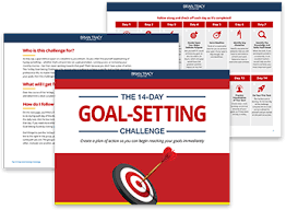 14 day goal setting challenge brian tracy