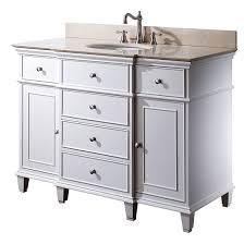 Strasser Simplicity Vanity Bathroom Top Avanity Windsor Single 48 Inch Transitional Vanity