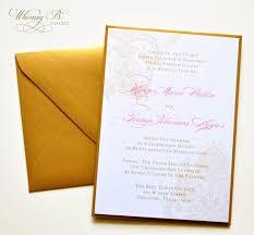 gold wedding invitation elegant wedding invitations gold