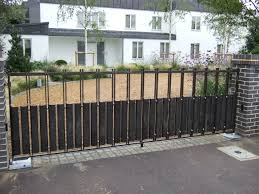 wrought iron driveway gate rolitz