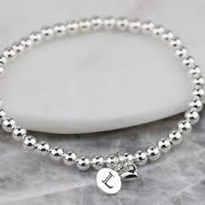 Infinity Bracelet With Initials Bridesmaid Jewellery Notonthehighstreet Com
