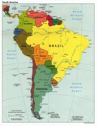 the americas map south america country map country map of south america south