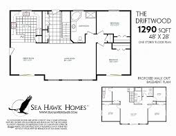 1800 square foot floor plans house plan new 1300 sq ft house plans with basement 1300 sq ft