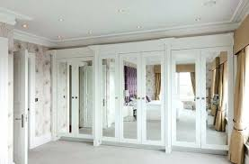 Bifold Closet Doors Menards Mirror Closet Door View In Gallery White Is A Choice For