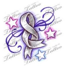cancer ribbon butterfly tattoos bing images with faith and hope
