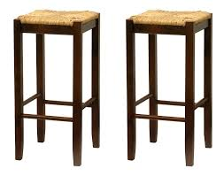 Kitchen Saddle Bar Stools Seagrass by Kitchen Bar Stools Counter Height Swivel With Backless Inch Wood