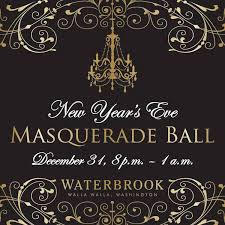 new year invitation new year s masquerade party at waterbrook winery great
