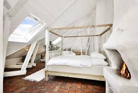 bedroom unique loft bedroom with white canopy bed also large