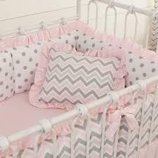 light pink crib bedding light pink and grey chevron bedding bedding designs