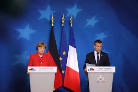 si e conseil europ n conférence de presse conjointe d emmanuel macron et d angela merkel