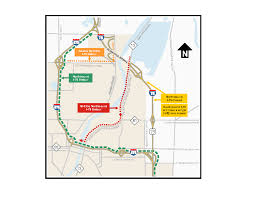 Saginaw Michigan Map by Som I 75 And Z Bridge Construction Nearing Completion In Saginaw