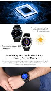 Pedometer Map H1 Smart Watch Phone Silver