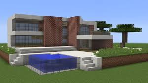 Modern House Minecraft Minecraft How To Build A Modern House Tutorial Nr 3 Youtube
