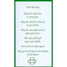blessing card blessing personalized prayer card priced per card the