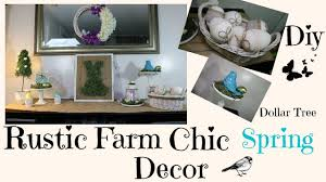 diy rustic chic spring dollar tree home decor youtube