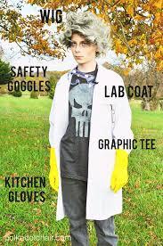 Style Glow Worm Halloween Costume Mad Scientist Costume Ideas Mad Scientist Halloween Mad
