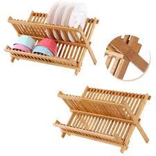 bamboo flatware natural bamboo dish drying rack flatware holder plate storage