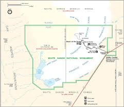 Map Of Monument Valley White Sands National Monument New Mexico Hikes Travels U0026 Tours