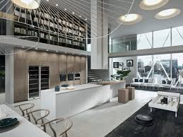 Long Narrow Kitchen Island by Breathtaking Home Interior With High Ceiling Also Black Area Rug