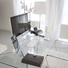 Home Office Glass Desk 29 Edgy Glass Desks For Modern Home Offices Digsdigs