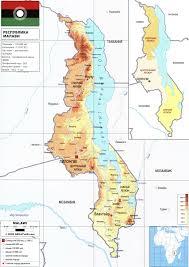 Malawi Map Malawi