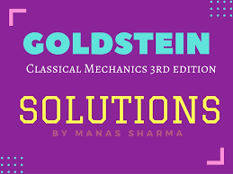 goldstein chapter 9 solutions bragitoff com