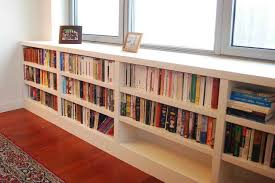 under window bookcase bench cabinet shelving modern under the window bookcase under the
