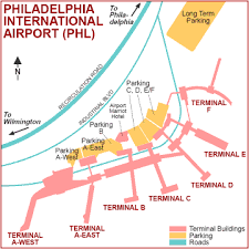 philadelphia international airport map philadelphia international airport airports
