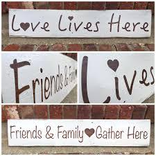 Love Home Decor Sign by Little Blue Door Littlebluedoor Twitter