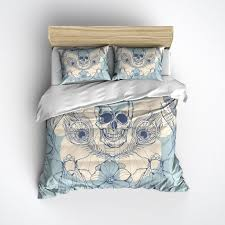 Duvet Bed Set 151 Best Skull Bedsets Images On Pinterest Duvet Cover Sets