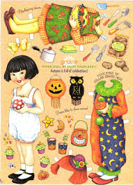 miss paper dolls englebreit october paper dolls
