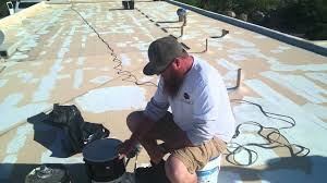 Dicor Epdm Rubber Roofing Coating System by Benefits Of Epdm Roof Coating Platinum Painting Youtube