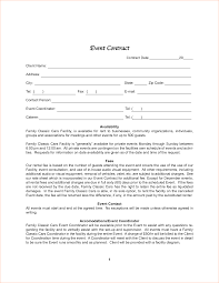 Child Support Contract Template Event Contracts Resume Cv Cover Letter