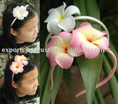 flower hair band flower hair band headband foam flower plumeria buy headband