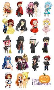bigc chibi halloween project by jusace on deviantart