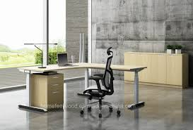 L Shaped Adjustable Height Desk by Office Desk Office Partition U0026 Workstation From China