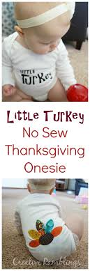 turkey no sew thanksgiving onesie creative ramblings