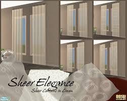 Sheer Elegance Curtains Betterbesim S Sheer Elegance Curtains Set