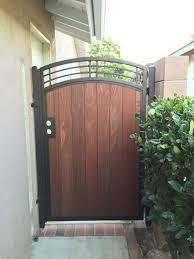 combination gates bellflower steel framed wood gates bellflower
