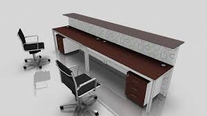 desk for two 2 person desk design selections homesfeed