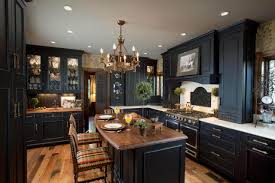black distressed kitchen cabinets home design