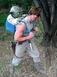 Luke Skywalker Halloween Costume Diy Yoda Star Wars Costume Maskerix
