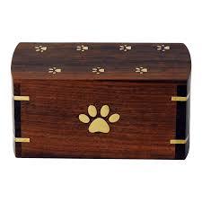 cremation urns for pets dog s paw wood cremation urn safe passage urns