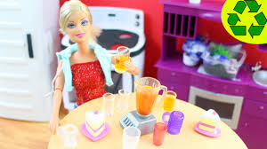 make doll drinking glasses cups and mugs easy doll crafts