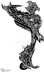 tribal phoenix tattoo by soulafire on deviantart