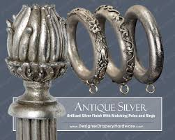 Metal Curtain Rods And Finials 52 Best Featured Products Images On Pinterest Curtains Drapery