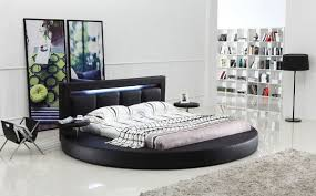 Oslo Bedroom Furniture Oslo Round Bed With Headboard Lights Modern Bedroom Furniture