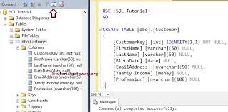 sql server create table syntax sql create table statement