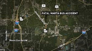 Atlanta Marta Map Motorcyclist Hit Killed By Marta Bus 11alive Com